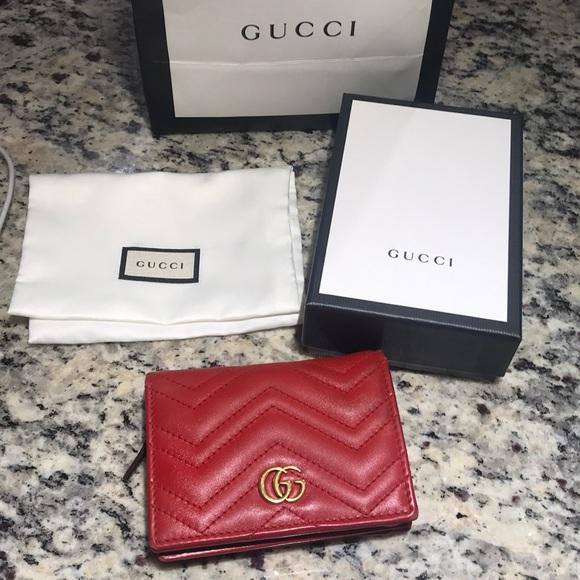 7445ac9943c Gucci Handbags - Authentic Gucci Marmont Wallet